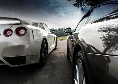 Nissan GT-R vs. Porsche 911