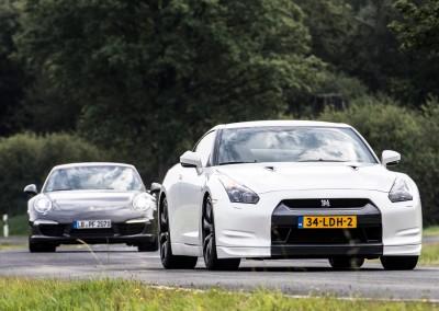 GT-R vs. Porsche